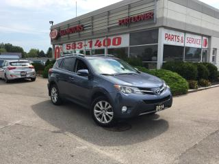 Used 2014 Toyota RAV4 LIMITED  for sale in Port Dover, ON