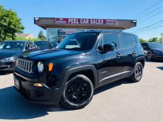 Used 2015 Jeep Renegade Sport FWD|CERTIFIED SPORTS|MANUAL TRANSMISSION|KEYLESS ENTRY|POWER WINDOWS|TRACTION CONTROL. for sale in Guelph, ON