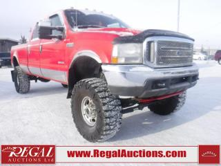 Used 2004 Ford F-350 SD LARIAT 4D CREW CAB 4WD for sale in Calgary, AB