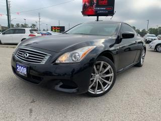 Used 2008 Infiniti G37 Coupe Sport for sale in London, ON