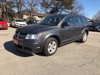 Used 2015 Dodge Journey Canada Value Pkg |LOW KM!! | ONE OWNER!! for sale in Stoney Creek, ON