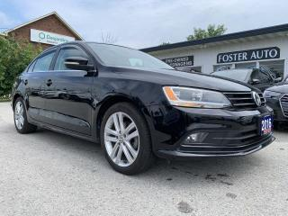 Used 2016 Volkswagen Jetta HIGHLINE for sale in Waterdown, ON