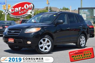 Used 2009 Hyundai Santa Fe Limited 3.3L AWD LEATHER SUNROOF HTD SEATS LOADED for sale in Ottawa, ON