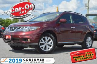 Used 2012 Nissan Murano SL AWD LEATHER PANO ROOF REAR CAM HTD SEATS for sale in Ottawa, ON