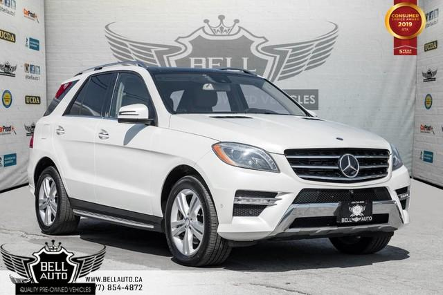 2014 Mercedes-Benz ML-Class ML 350 BlueTEC, NO ACCIDENT, NAVI, 360 CAM, PANO ROOF