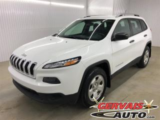 Used 2016 Jeep Cherokee Sport 4x4 Ensemble Temps Froid Bluetooth Caméra for sale in Trois-Rivières, QC