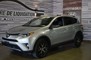 Used 2017 Toyota RAV4 Se+awd+gps+toit+mags for sale in Laval, QC