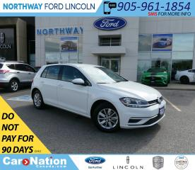 Used 2018 Volkswagen Golf Trendline | HTD SEATS | BACKUP CAM | BLUETOOTH | for sale in Brantford, ON