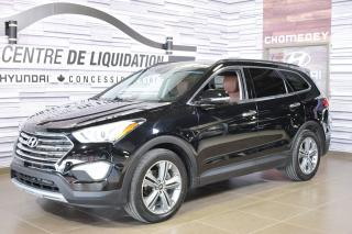 Used 2015 Hyundai Santa Fe XL LIMITED+AWD+CUIR+TOIT+MAGS+GPS for sale in Laval, QC