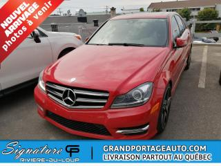 Used 2014 Mercedes-Benz C-Class ** 44193 KM SEULEMENT**BIJOU** for sale in Rivière-Du-Loup, QC
