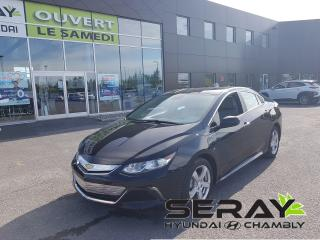 Used 2016 Chevrolet Volt LT, cuir, camera de recul, mags for sale in Chambly, QC