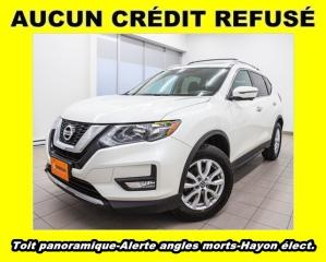 Used 2017 Nissan Rogue SV AWD HAYON ÉLECT ALERTE ANGLES MORTS *TOIT PANO* for sale in St-Jérôme, QC