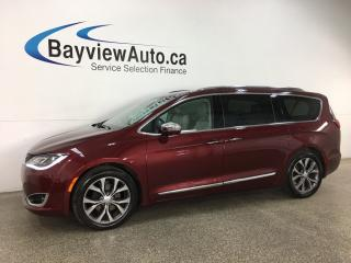 Used 2017 Chrysler Pacifica Limited - HTD/COOLED LTHR! DVD X2! NAV! PANOROOF! PWR DOORS! + MUCH MORE! for sale in Belleville, ON