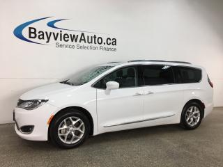 Used 2018 Chrysler Pacifica Touring-L Plus - HTD LTHR! PANOROOF! ENTERTAINMENT SYSTEM! PWR DOORS! + MORE! for sale in Belleville, ON
