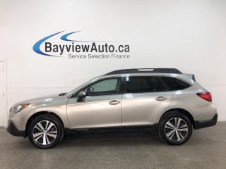 Used 2018 Subaru Outback 2.5i Limited - AWD! HTD LEATHER! NAV! SUNROOF! PWR LIFTGATE! for sale in Belleville, ON