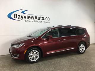 Used 2018 Chrysler Pacifica Touring-L Plus - HEATED LEATHER! PANOROOF! DVD X2! PWR LIFTGATE! + MORE! for sale in Belleville, ON