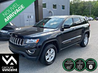 Used 2015 Jeep Grand Cherokee LAREDO **GARANTIE 10 ANS** De l'espace pour tous! for sale in Shawinigan, QC