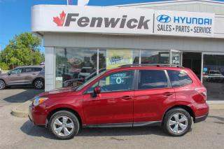Used 2014 Subaru Forester 2.5i Convenience at for sale in Sarnia, ON