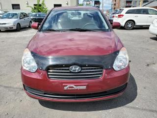 Used 2010 Hyundai Accent Berline 4 portes, boîte manuelle, L for sale in Montréal, QC