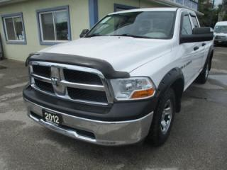 Used 2012 Dodge Ram 1500 WORK READY SLT MODEL 6 PASSENGER 5.7L - HEMI.. 4X4.. QUAD-CAB.. SHORTY.. CD/AUX INPUT.. KEYLESS ENTRY.. for sale in Bradford, ON