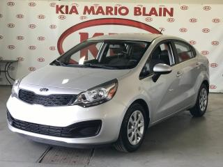 Used 2014 Kia Rio LX+ * SIEGES CHAUFFANTS * A/C * BLUETOOTH for sale in Ste-Julie, QC