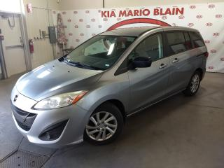 Used 2012 Mazda MAZDA5 GS * A/C * MAGS * GRP ÉLEC for sale in Ste-Julie, QC