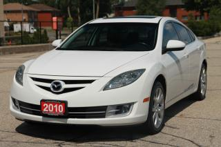 Used 2010 Mazda MAZDA6 GT-I4 LOW KMS !!! | Sunroof | Leather | CERTIFIED for sale in Waterloo, ON