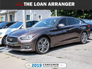 Used 2015 Infiniti Q50 Limited for sale in Barrie, ON