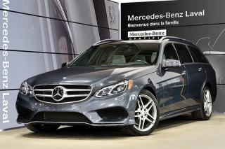 Used 2016 Mercedes-Benz E-Class E400 4MATIC Wagon for sale in Laval, QC