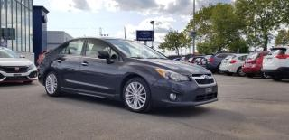 Used 2012 Subaru Impreza LIMITED AWD CVT for sale in Trois-Rivières, QC