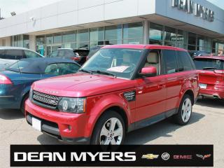 Used 2012 Land Rover Range Rover SPORT HSE LUXURY for sale in North York, ON