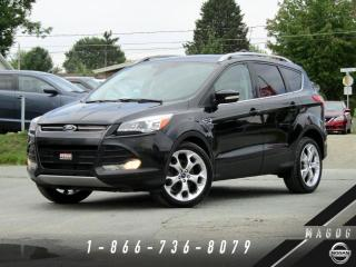 Used 2014 Ford Escape TITANIUM + 4WD + NAV + CUIR + TOIT + CAM for sale in Magog, QC