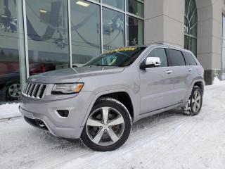 Used 2014 Jeep Grand Cherokee Overland 5.7L toit pannoramique 102$/Sem for sale in Ste-Agathe-des-Monts, QC