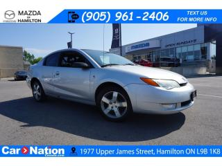 Used 2006 Saturn Ion 3 Uplevel 3 | AS-TRADED | ALLOYS | AUX INPUT for sale in Hamilton, ON