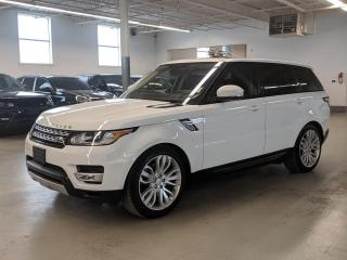 Used 2016 Land Rover Range Rover Sport DIESEL/7 PASS/HEADS-UP DISPLAY/SOFT CLOSING DOORS! for sale in Toronto, ON