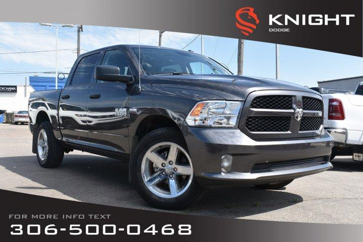 Knight Dodge Swift Current >> Used 2017 Ram 1500 Express Low Kms Bluetooth For Sale