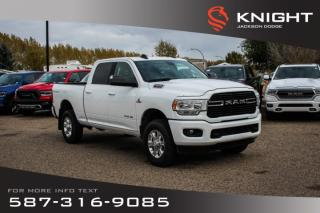 Used 2019 RAM 3500 Big Horn Crew Cab | Heated Seats and Steering Wheel | Sunroof | Navigation for sale in Medicine Hat, AB