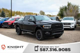 Used 2019 RAM 3500 Laramie Crew Cab | Sunroof | Navigation for sale in Medicine Hat, AB