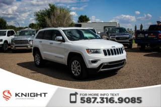 Used 2016 Jeep Grand Cherokee Limited - Leather, Remote Start, Sunroof for sale in Medicine Hat, AB