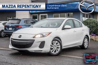 Used 2012 Mazda MAZDA3 2012 Mazda Mazda3 - 4dr Sdn Auto GS-SKY for sale in Repentigny, QC
