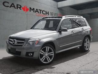 Used 2011 Mercedes-Benz GLK-Class GLK 350 / 4 MATIC / SUNROOF for sale in Cambridge, ON