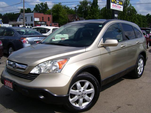 2009 Honda CR-V EX-L,4X4,LEATHER,A/C,SUNROOF,CERTIFIED,TINTED