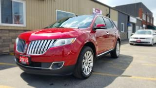 Used 2015 Lincoln MKX AWD-NAVIGATION-PAN. SUNROOF-FULL LEATHER-OFF LEASE for sale in Tilbury, ON