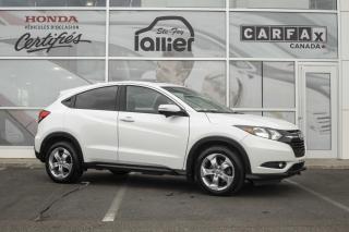 Used 2016 Honda HR-V EX AWD ***GARANTIE GLOBALE JUSQU'EN 2021 for sale in Québec, QC