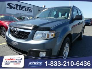 Used 2010 Mazda Tribute GX / AIR CLIMATISE /  JAMAIS ACCIDENTE! for sale in St-Georges, QC