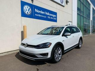 New 2019 Volkswagen Golf Alltrack *DEALER DEMO* ALLTRACK EXECLINE W/ DRIVERS ASSIST PKG for sale in Edmonton, AB