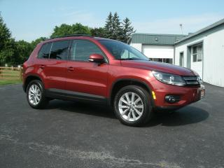 Used 2013 Volkswagen Tiguan Highline for sale in Stoney Creek, ON