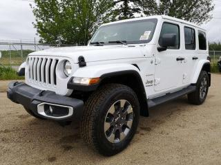 Used 2019 Jeep Wrangler Unlimited Sahara for sale in Edmonton, AB