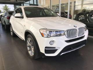 Used 2015 BMW X4 xDrive35i AWD SPORTS COUPE, ACCIDENT FREE, SUNROOF, KEYLESS IGNITION, POWER HEATED LEATHER SEATS for sale in Edmonton, AB