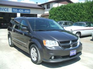 Used 2015 Dodge Grand Caravan Crew Plus, NAV./DVD for sale in Beaverton, ON